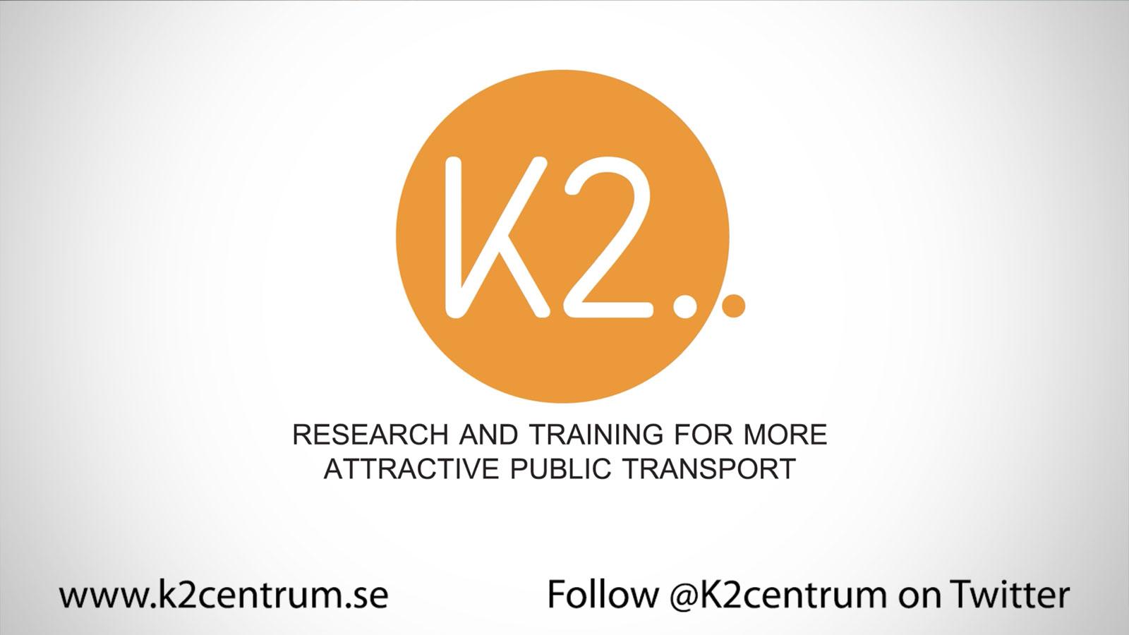 K2 – nationellt kunskapscenter för kollektivtrafik